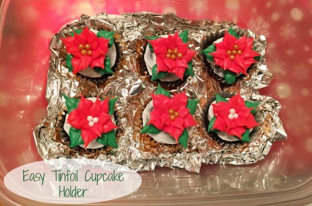 Easy Tinfoil Cupcake Holder