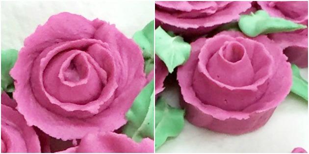 Wilton Course 1 Buttercream Ribbon Roses