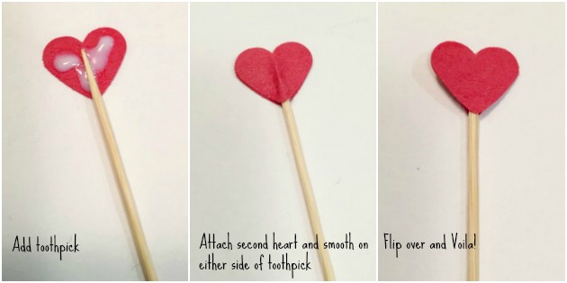 Easy Heart Valentine Treat Topper