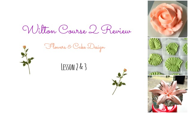 Wilton Course 2 Review - Lesson 2 and 3
