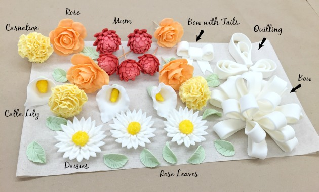 Wilton Course 3 Review - Fondant and Gumpaste: Part 1 ...