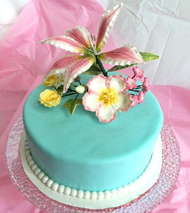 Wilton Course 4 Final Cake