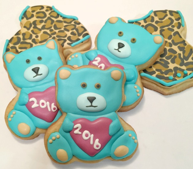 Teddy Bear Cookies - Baby Shower