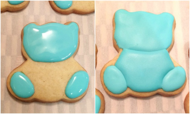 Icing Teddy Bear Cookies