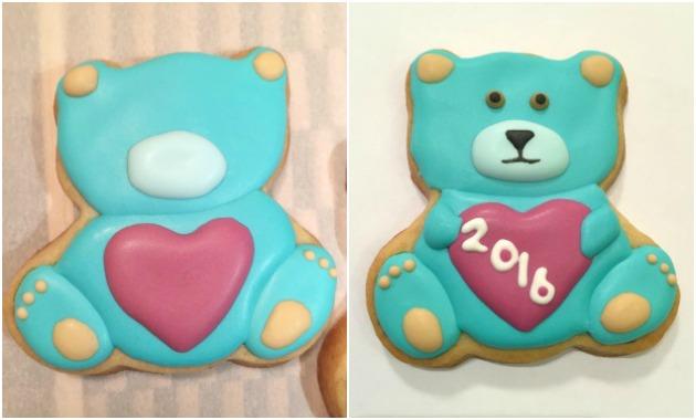 Teddy Bear Icing Details