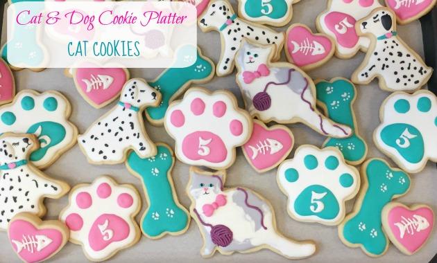 Decorated Cat Cookies