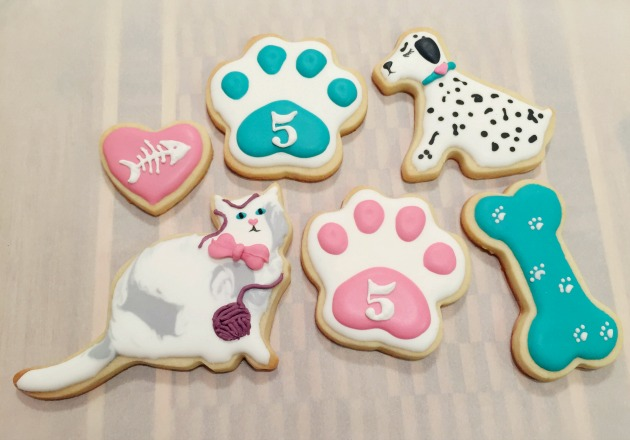 Cat & Dog Cookie Platter