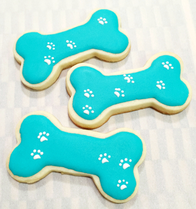 Dog Bone Cookies