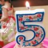 DIY Birthday Candle Bling