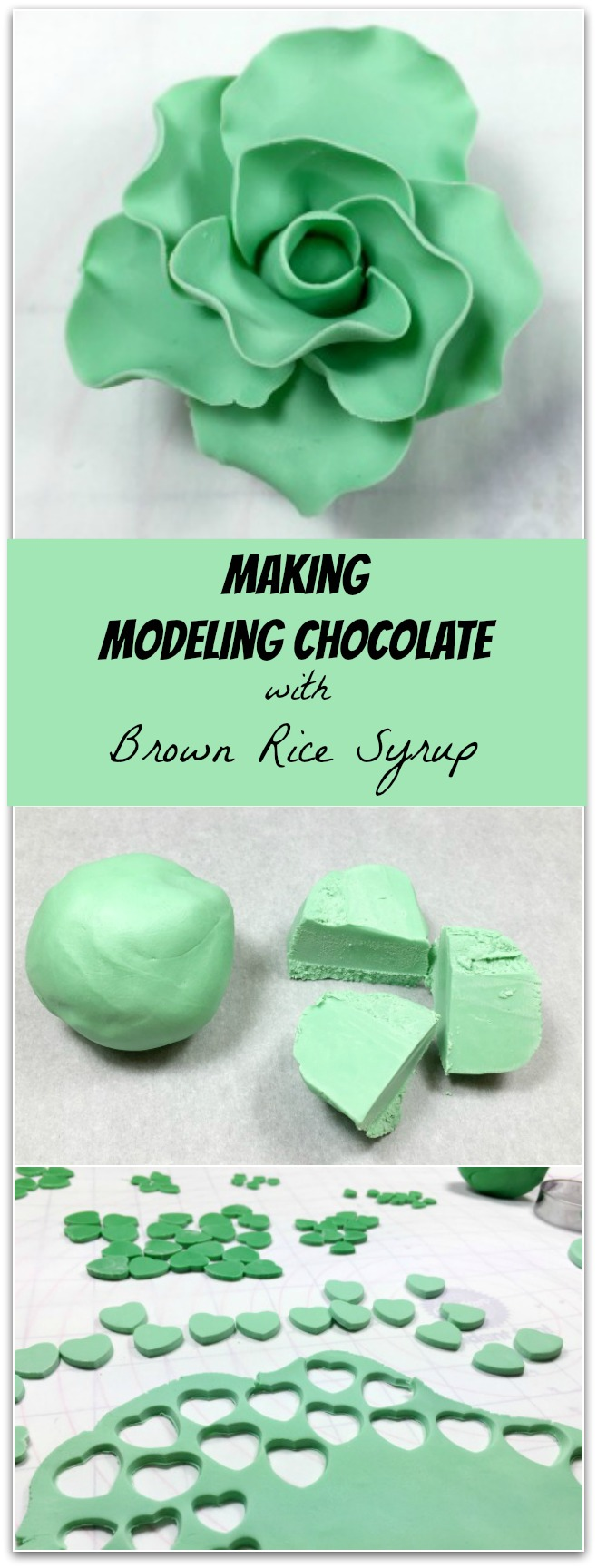 Making Modeling Chocolate with Organic Brown Rice Syrup