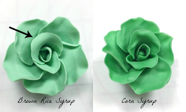 Modeling Chocolate Roses corn syrup vs brown rice syrup