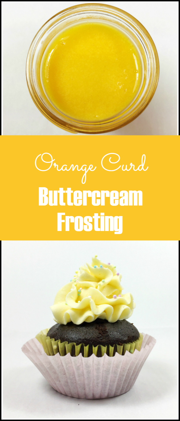 Orange Curd Buttercream Frosting Recipe