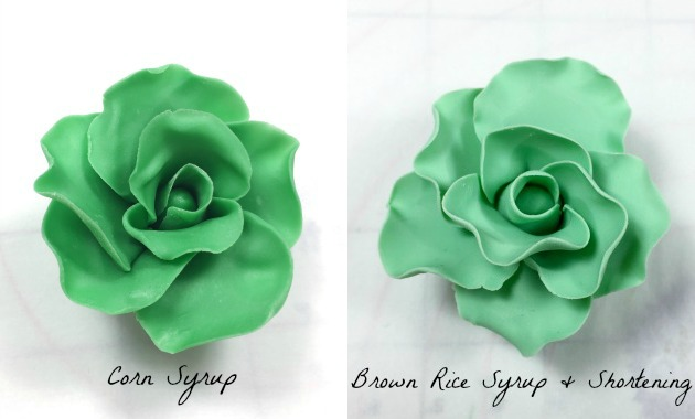 candy clay roses