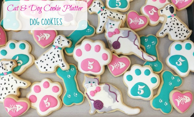 Cats Amp Dogs Decorated Cookies Part 2 Dog Cookies